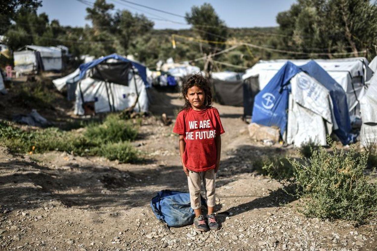 Afbeelding van Kinderen uit vluchtelingenkampen komen Nederland niet in. Hoe zit dat?!
