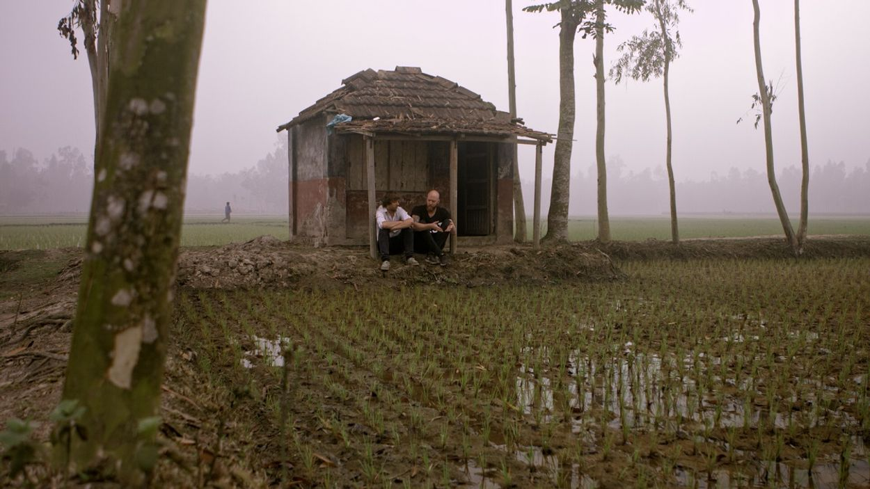 Hidde en Karsten in Bangladesh