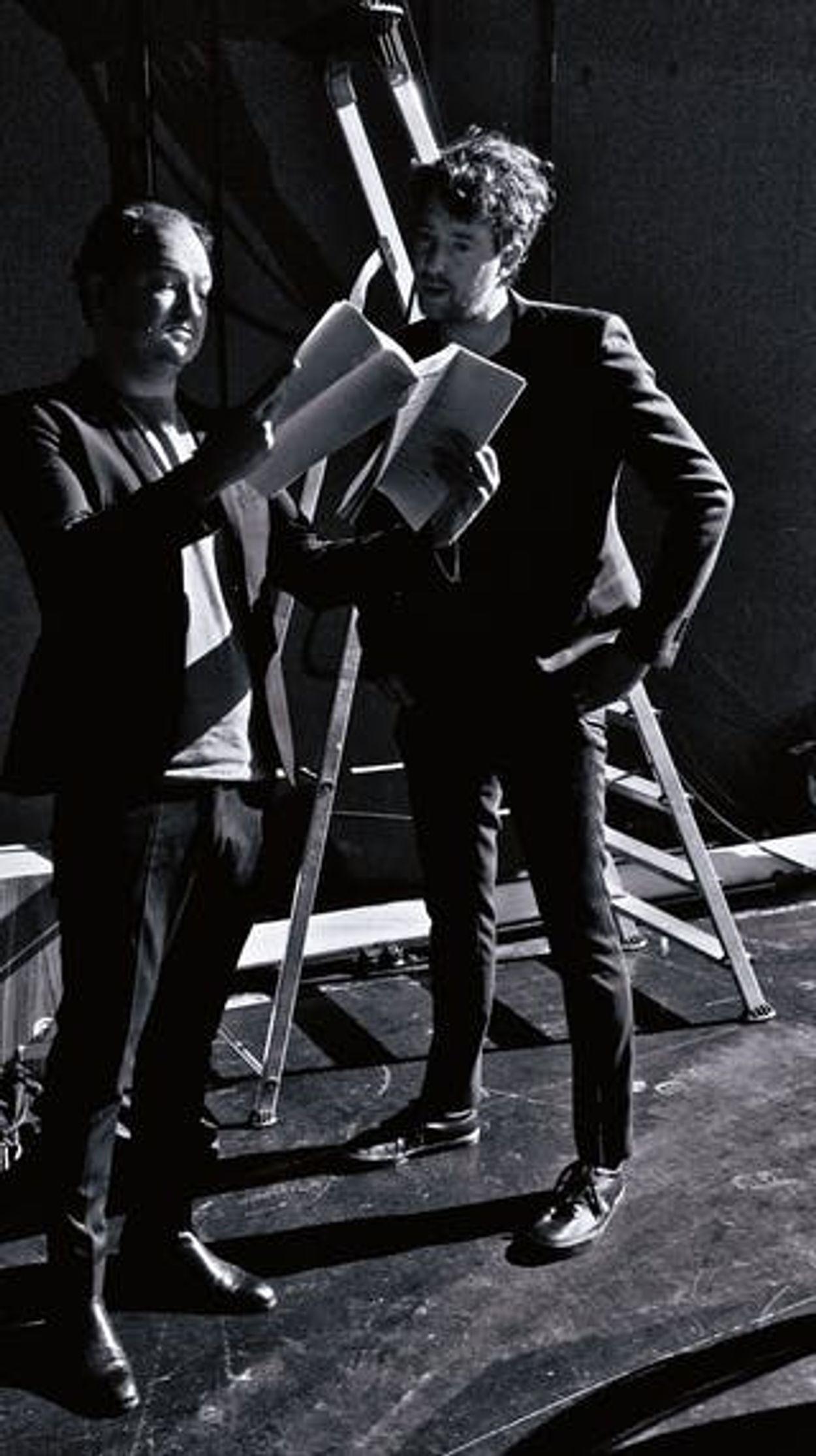 Jeroen Woe (links) en Niels van der Laan