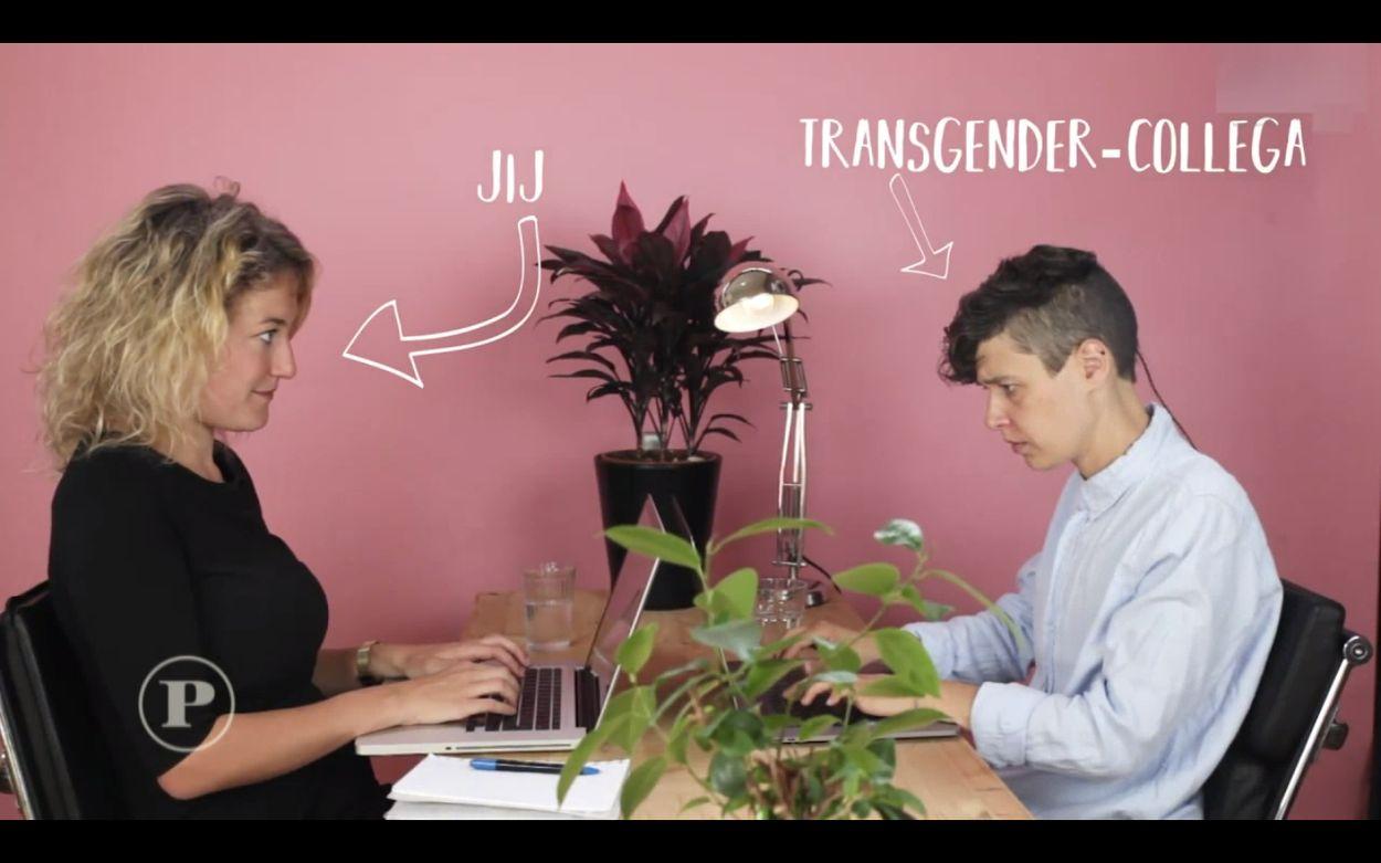 Afbeelding van Wat vraag je wel/niet aan een transgender?
