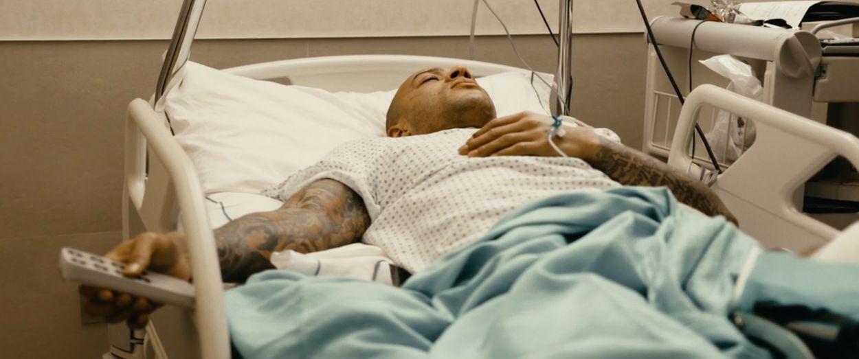 Memphis Depay in het ziekenhuis
