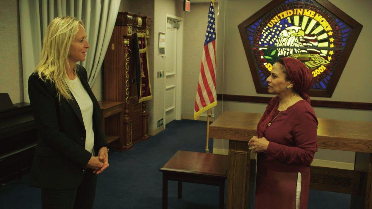 In gesprek met Manal Ezzat, die tijdens de aanslag op het Pentagon als chief engineer aan het werk was.