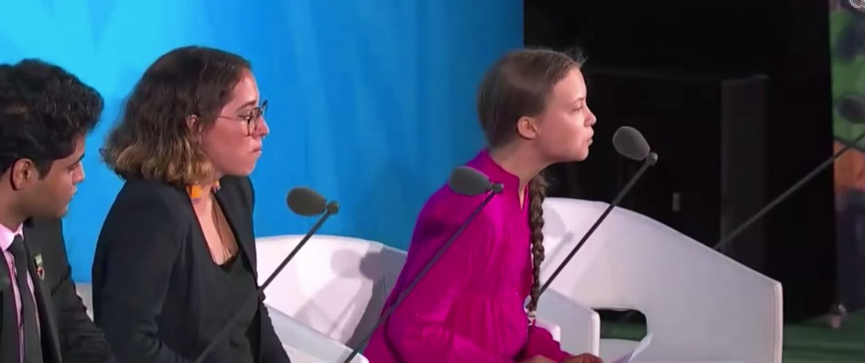 Greta Thunberg VN