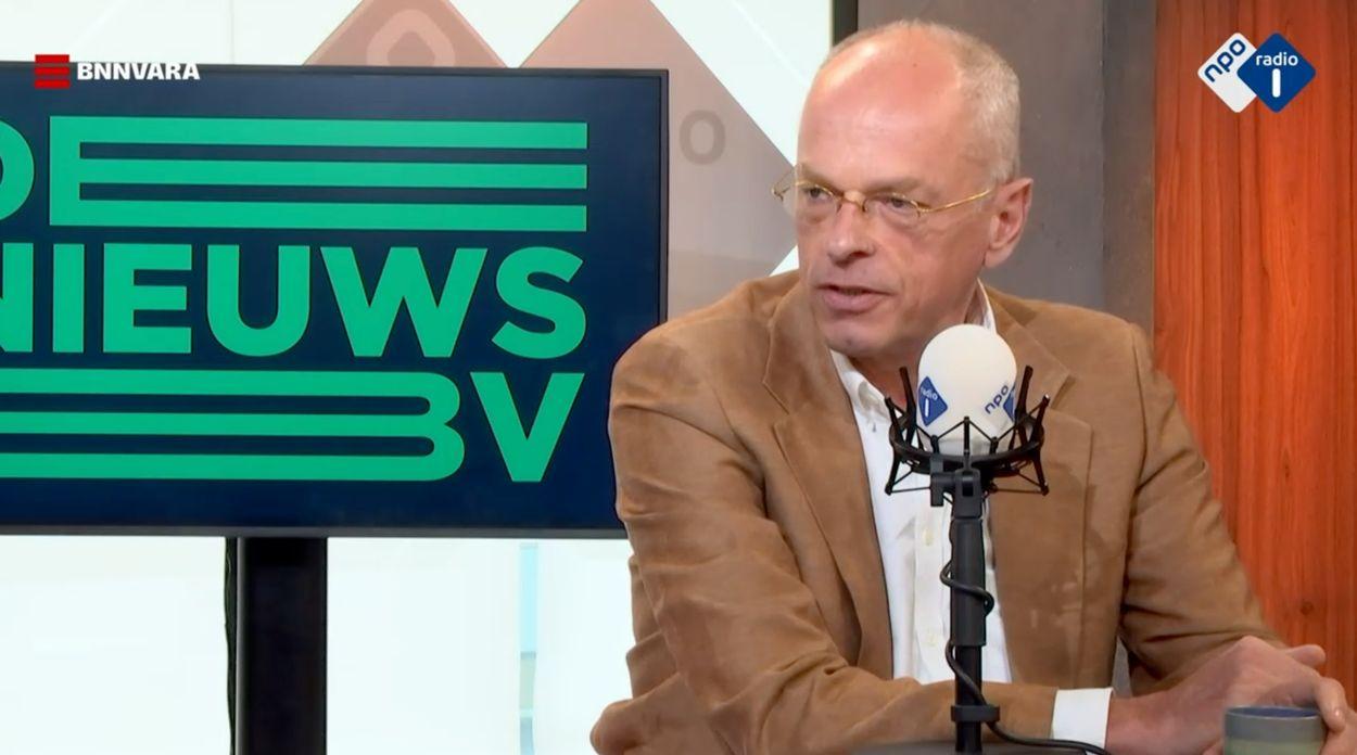 Eerste Kamervoorzitter Jan Anthonie Bruijn