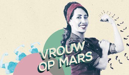 Afbeelding van Vrouw op Mars