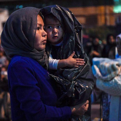 Afbeelding van Hoe is de situatie met vluchtelingen in Griekenland?