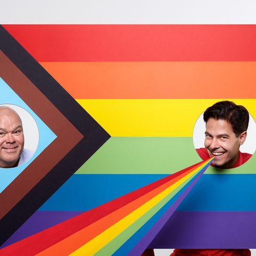 Afbeelding van Is het leuk om homo te zijn in 2020?, vraagt Paul de Leeuw aan Rob Jetten.