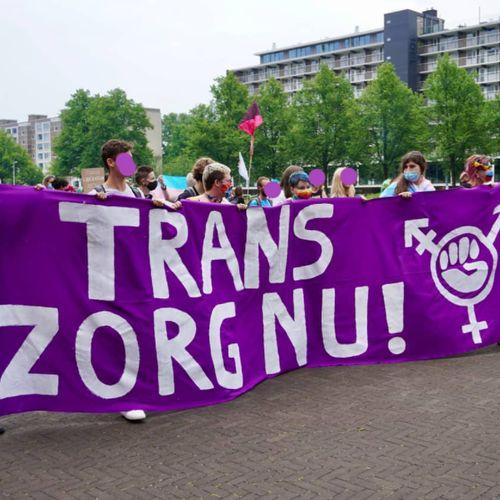 Afbeelding van Welke teksten maakten indruk tijdens de #transzorgnu-demonstratie?