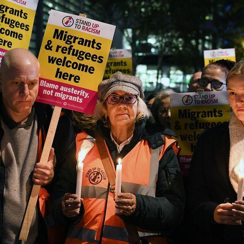 Afbeelding van Waarom reizen vluchtelingen vaak af naar Engeland?